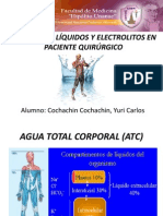 CUIDADO DE LÍQUIDOS Y ELECTROLITOS EN PACIENTE QUIRÚRGICO
