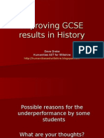 Improving GCSE Results in History