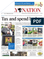 Daily Nation Friday 14th June 2013