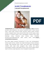 Penyakit Toxoplasmosis