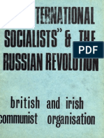 "The ""International Socialists"" and the Russian Revolution"