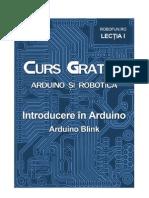 Lectia1 Curs Arduino ArduinoBlink