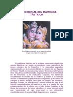 el ceremonial del maithuna tántrico