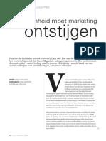 Duurzaamheid moet marketing ontstijgen, Facto Magazine 2013, nr. 6