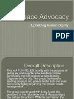Peace Advocacy Presentation