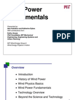 Wind Power Fundamentals Slides