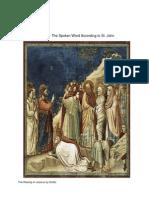 Jesus - The Spoken Word According to St. John