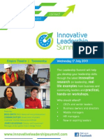 Innovative Leadership Summit