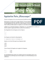 Application Kata Minesweeper