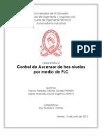 Reporte Ascensor con PLC