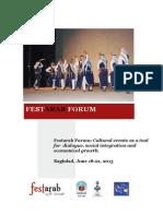 Fest Arab Forum 2013