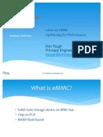 Linux on eMMC- Optimizing for Performance