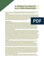 Punctia Spinala Si Analiza LCR