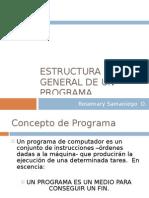 Estructura General de Un Program a 05