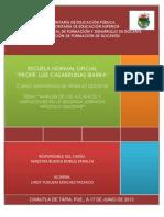 RESULTADOS Y ANÁLISIS DE LA SEGUNDA JORNADA DE PRACTICA