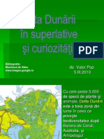 Delta Dunarii, superlative si curiozitati.pps