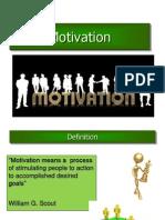 Unit- 6 Motivation