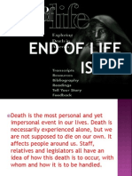End of Life Issue(Jc)