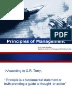 Unit 2 Principles of Maangement