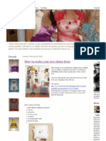 Fashion Customized_ How to make your own dress form.pdf