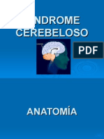 SINDROME CEREBELOSO