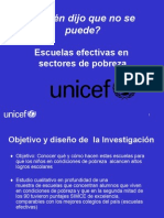 Escuelas Efectivas_Unicef