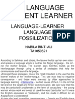 The Language Deficient Learner