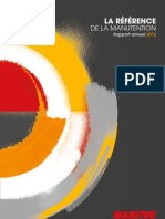 Rapport annuel Manitou Group 2012