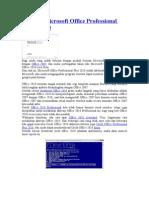 Aktivasi Microsoft Office Professional Plus 2010