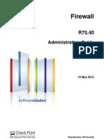 CP R75.40 Firewall AdminGuide