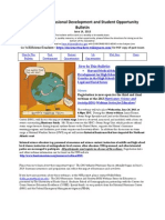 RI Science Professional Development and Student Opportunity Bulletin 6-14-13