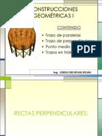 CONSTRUCCIONES GEOMÉTRICAS 1