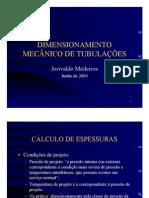 NTT_Tubulações_Dimensionamento