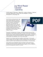 Charleston SC Offshore Wind Ins Trust Rial Hub White Paper