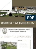Distrito La Esperanza Roxana