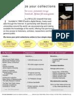 Internet Archive Brochure