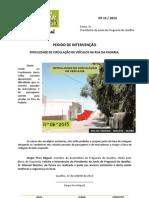 2013-15 - PI - Rua da Padaria Quelfes Olhão Dificuldade de Circulação