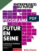 Programme Fens2013