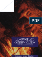 Language and Communication a Cross-Cultural Encyclopedia