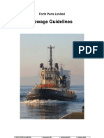 Towage Guidelines