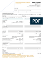 one account application form - FNB