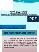 Site Analyzer-Overview and Complete Working Procedure_2