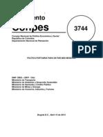 Decreto Puertos DNP
