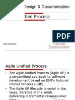 Agile Unified Process System Development Technique