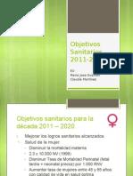 2.- Objetivos Sanitarios- GES