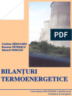 Bilanturi termoenergetice
