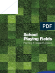 School Playing Fields Planning and Design Guidance