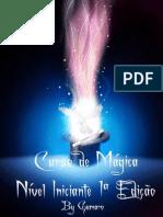 Curso Mágica - Nível Iniciante  1ª Edição - upload by gumaro - www.thegenius.tv
