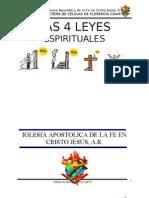 Las 4 Leyes Espirituales