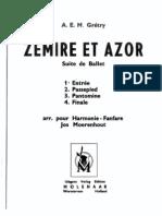 Zemire et Azore - A. Gretry